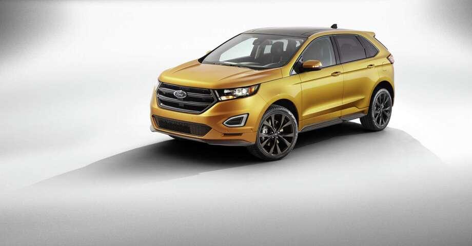 The 2015 Ford Edge Photo: Newspress USA