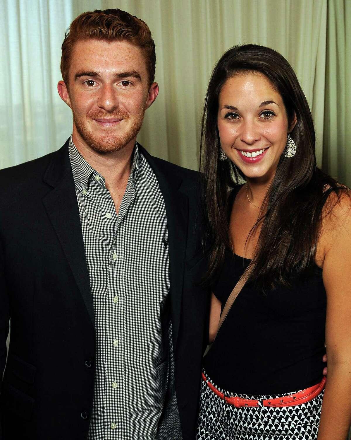Eric Frankum and Emily Maddox
