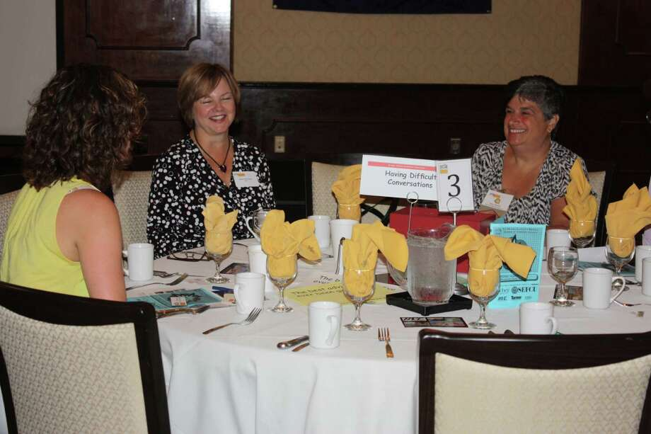 Were you Seen at the Wonder Women Roundtables event, sponsored by the Rensselaer County Chamber of Commerce, at The Century House in Latham on Thursday, Aug. 14, 2014 Photo: Rensselaer County Regional Chamber Of Commerce