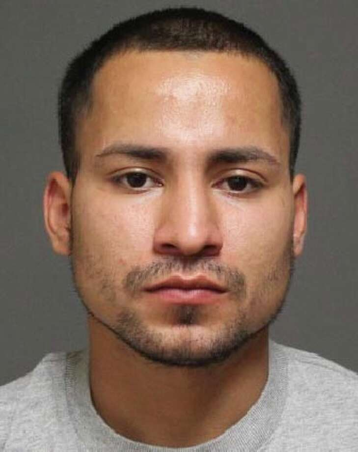 German F. Molina, 24, of Bridgeport, was charged with assaulting his girlfriend in a Tunxis Hill parking lot in June. Photo: Contributed Photo /  Fairfield Citizen contributed