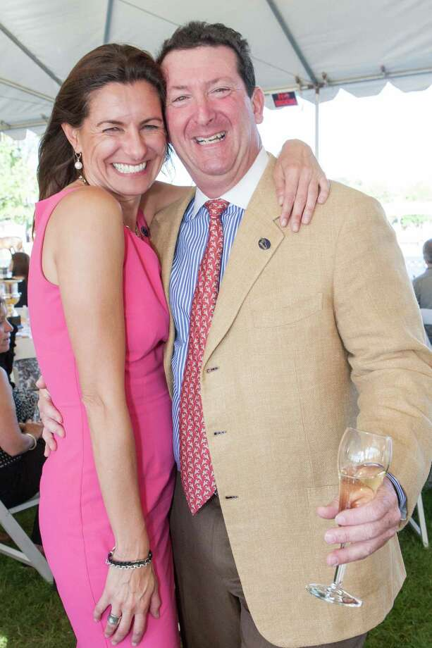 Rebecca Cooper and Steve Goldenberg at the Menlo Charity Horse Show in Atherton on August 8, 2014. Photo: Drew Altizer Photography/SFWIRE, Drew Altizer Photography / © Drew Altizer Photography 2014