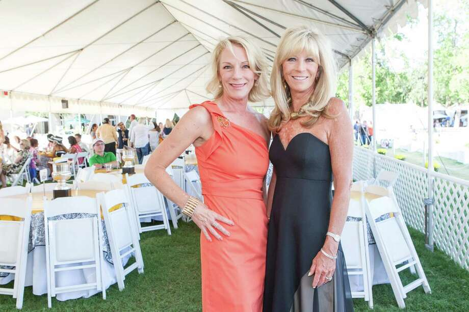 Jenifer McDonald and Susan Martin at the Menlo Charity Horse Show in Atherton on August 8, 2014. Photo: Drew Altizer Photography/SFWIRE, Drew Altizer Photography / © Drew Altizer Photography 2014