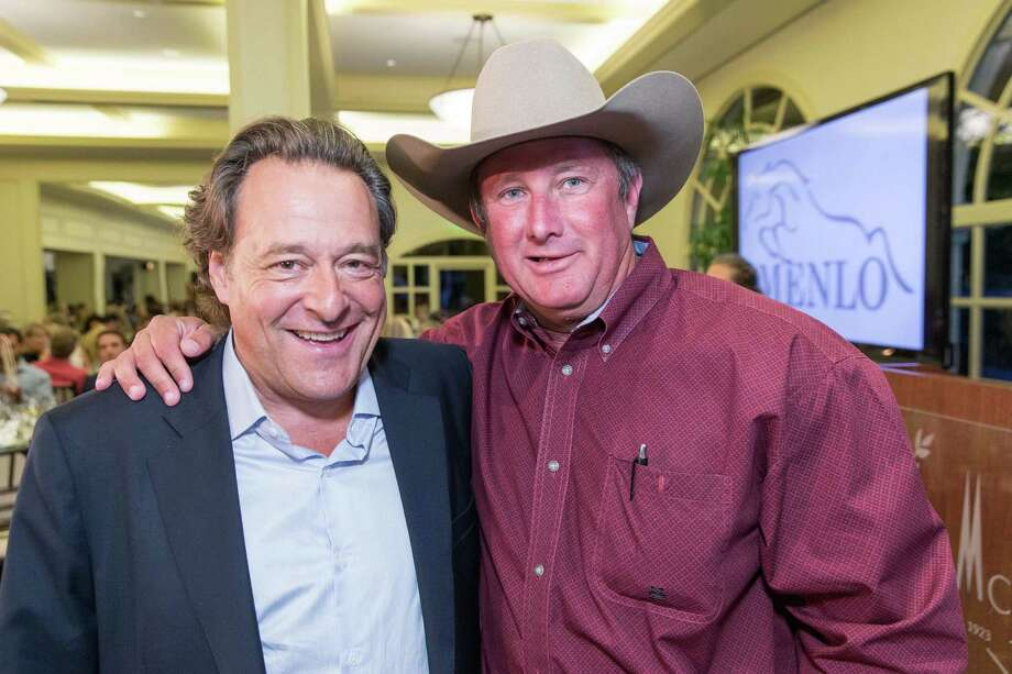 Steve Silver and John Glines at the Menlo Charity Horse Show in Atherton on August 8, 2014. Photo: Drew Altizer Photography/SFWIRE, Drew Altizer Photography / © Drew Altizer Photography 2014