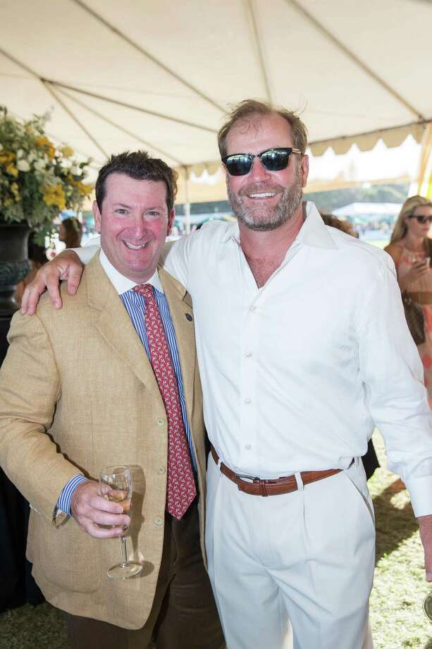 Steve Goldenberg and Tom Newton at the Menlo Charity Horse Show in Atherton on August 8, 2014. Photo: Drew Altizer Photography/SFWIRE, Drew Altizer Photography / © Drew Altizer Photography 2014