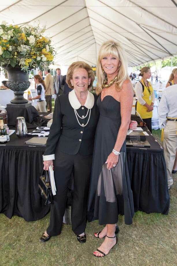 Betsy Glikbarg and Susan Martin at the Menlo Charity Horse Show in Atherton on August 8, 2014. Photo: Drew Altizer Photography/SFWIRE, Drew Altizer Photography / © Drew Altizer Photography 2014