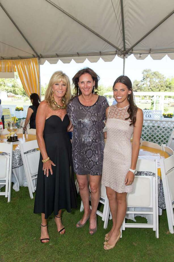 Susan Martin, Suzanne Rischman and Kristen Hiller at the Menlo Charity Horse Show in Atherton on August 8, 2014. Photo: Drew Altizer Photography/SFWIRE, Drew Altizer Photography / © Drew Altizer Photography 2014