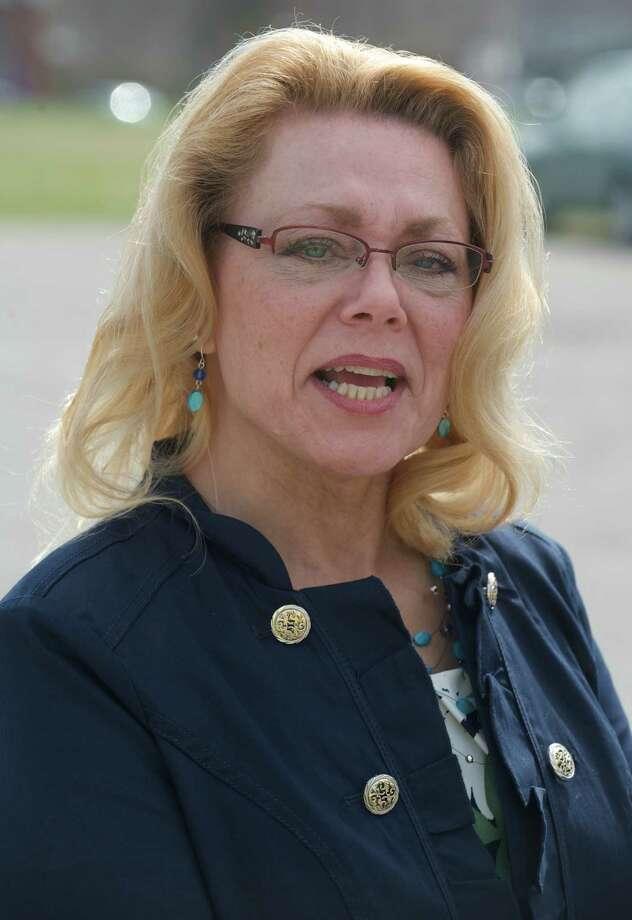 New Milford Mayor Pat Murphy Photo: H John Voorhees III / The News-Times Freelance