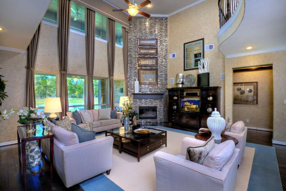 The family room inside a Taylor Morrison home. Photo: Taylor Morrison