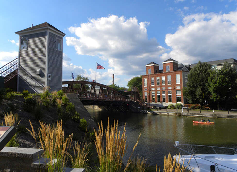 """Kathy Eichorn's """"Fairport,"""" winner of the 2013 Erie Canalway Photo Contest."""