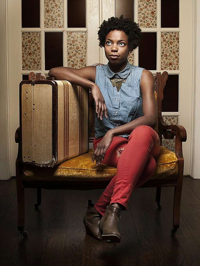 "Sasheer Zamata, the first black cast member of ""Saturday Night Live"" since Maya Rudolph, performs at the Punch Line Comedy Club this weekend. Photo: Punch Line"