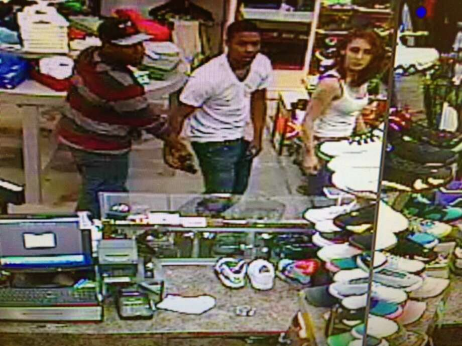 San Leandro police are asking for the public's help in identifying a group of suspects wanted in connection with a shooting outside the Bayfair Center after an argument inside a shoe store. Photo: Courtesy, San Leandro Police Department