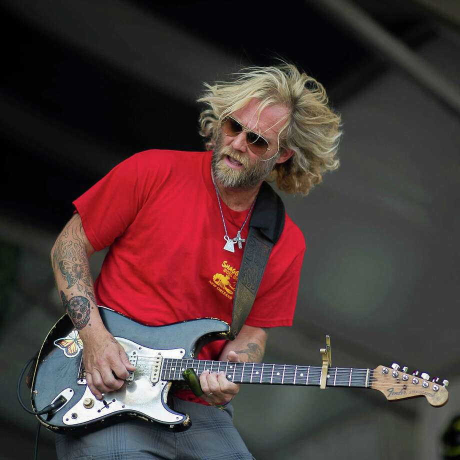 Blues rocker Anders Osborne will perform at the Blues, Views and BBQ Festival on Saturday, Aug. 30, 2014, from 6 to 7:30 p.m. It is his third time at the event, which features other artists, including the Spin Doctors, Rory Block and Coco Montoya Band. For more information, visit www.bluesviewsbbq.com. Photo: Marc Millman, Contributed Photo / Stamford Advocate Contributed photo
