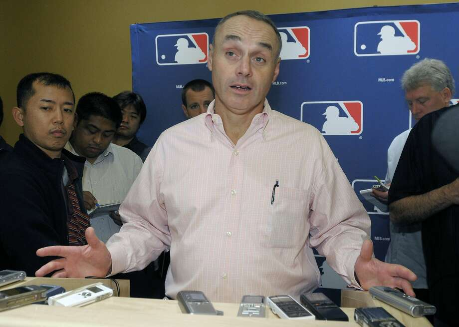 Rob Manfred needed multiple rounds of voting to become baseball's 10th commissioner. Photo: Phelan M. Ebenhack, Associated Press