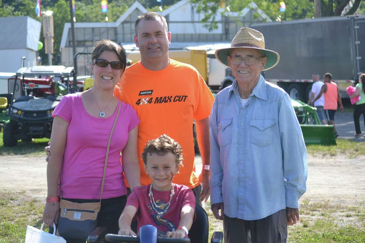 Were you Seen at the Altamont Fair on Thursday, Aug. 14, 2014? The fair continues through Sunday, Aug. 17.