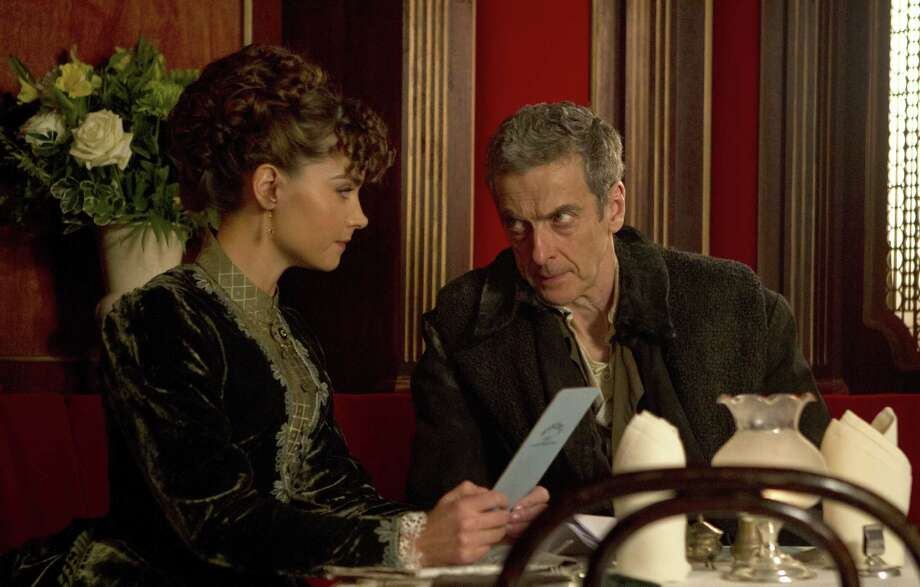 "Peter Capaldi is expected to bring more of a classic feel to ""Doctor Who"" — less dreamy, somewhat grumpier — in season eight, which once again features Jenna Coleman as the Time Lord's companion. Photo: BBC America / BBC/BBC WORDLWIDE 2014"