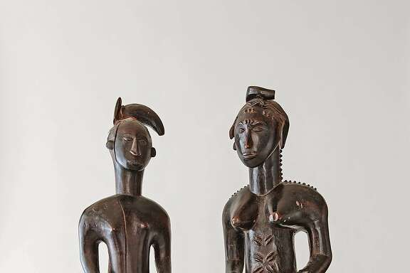 Genentech scientist Richard Scheller has collected African art for nearly 30 years.