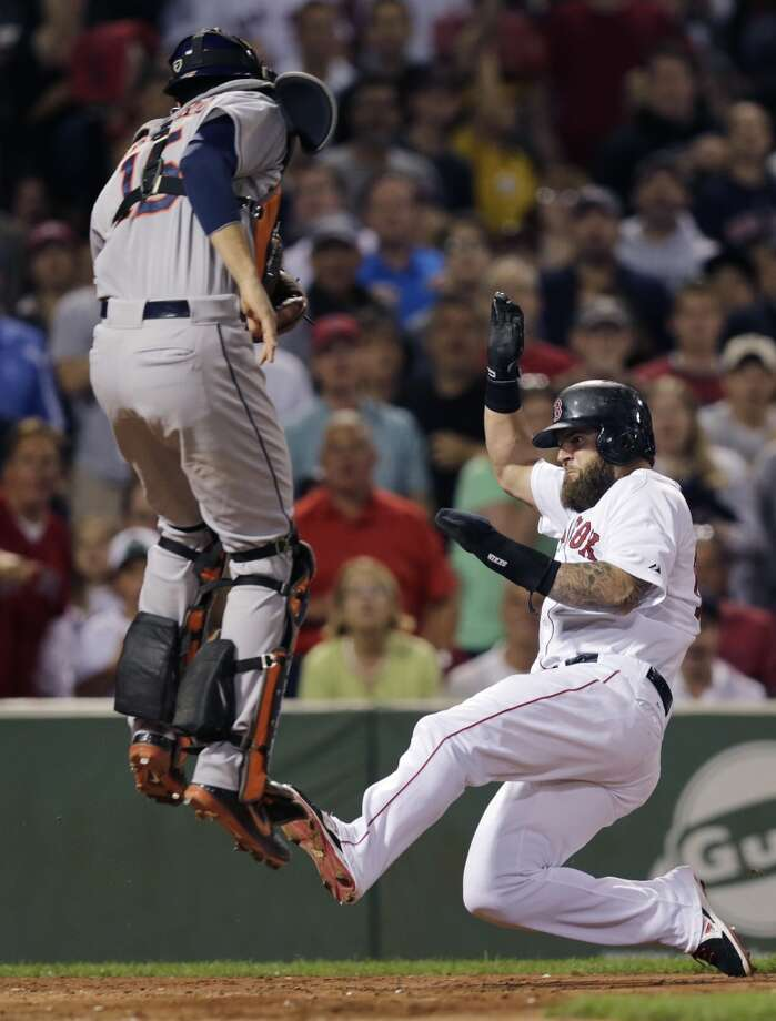 August 14: Red Sox 9, Astros 4Jason Castro and the Astros let an early lead slip away to Mike Napoli & Co.  in the series opener in Boston.Record: 50-72. Photo: Charles Krupa, Associated Press