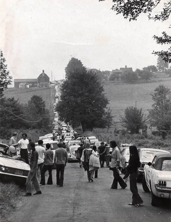 Times Union file photo - Woodstock Music Festival in 1969.