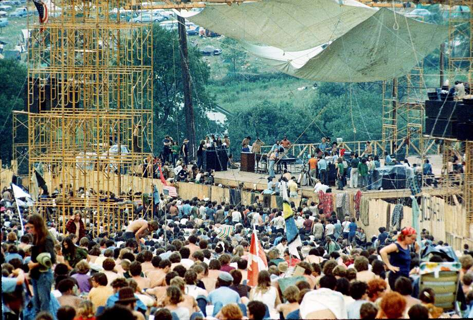 Woodstock Festival of Arts and Music at Bethel, New York, August 1969. (AP Photo) Photo: ASSOCIATED PRESS / AP1969