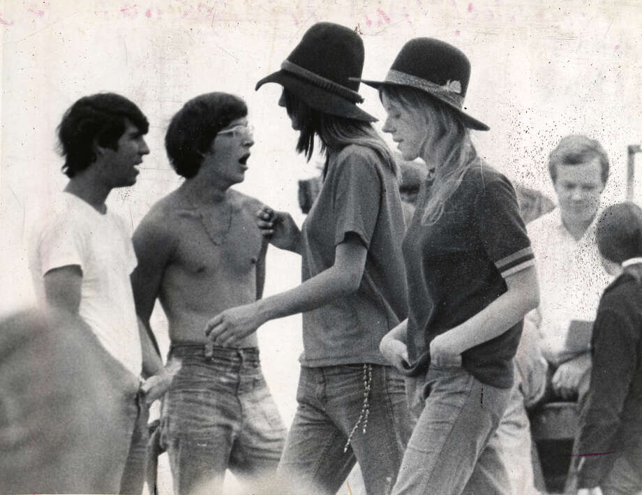 Times Union file photo - Woodstock Music Festival in 1969. Photo: ALL