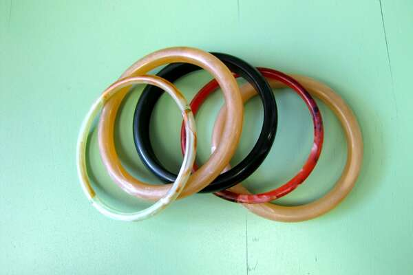 Assorted bangles, $4 each. Jan's Antiques, Etc., Beaumont