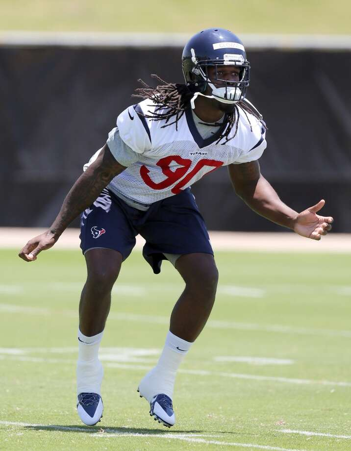Outside linebacker Jadeveon ClowneyHe flashed in his debut, playing the run well, getting after the passer and impacting his side of the field except when he was forced to drop into coverage. It's hard to imagine defensive coordinator Romeo Crennel asking a player with his pass rush skills to go backward very often in regular season. Crennel won't call anything exotic for preseason. He'll keep it simple. The coaches want to see Clowney improve each week and develop consistency. The idea is to not make him think too much, just react instinctively and get the quarterback. Photo: Thomas B. Shea
