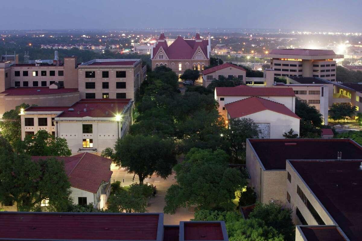 Texas State University campus