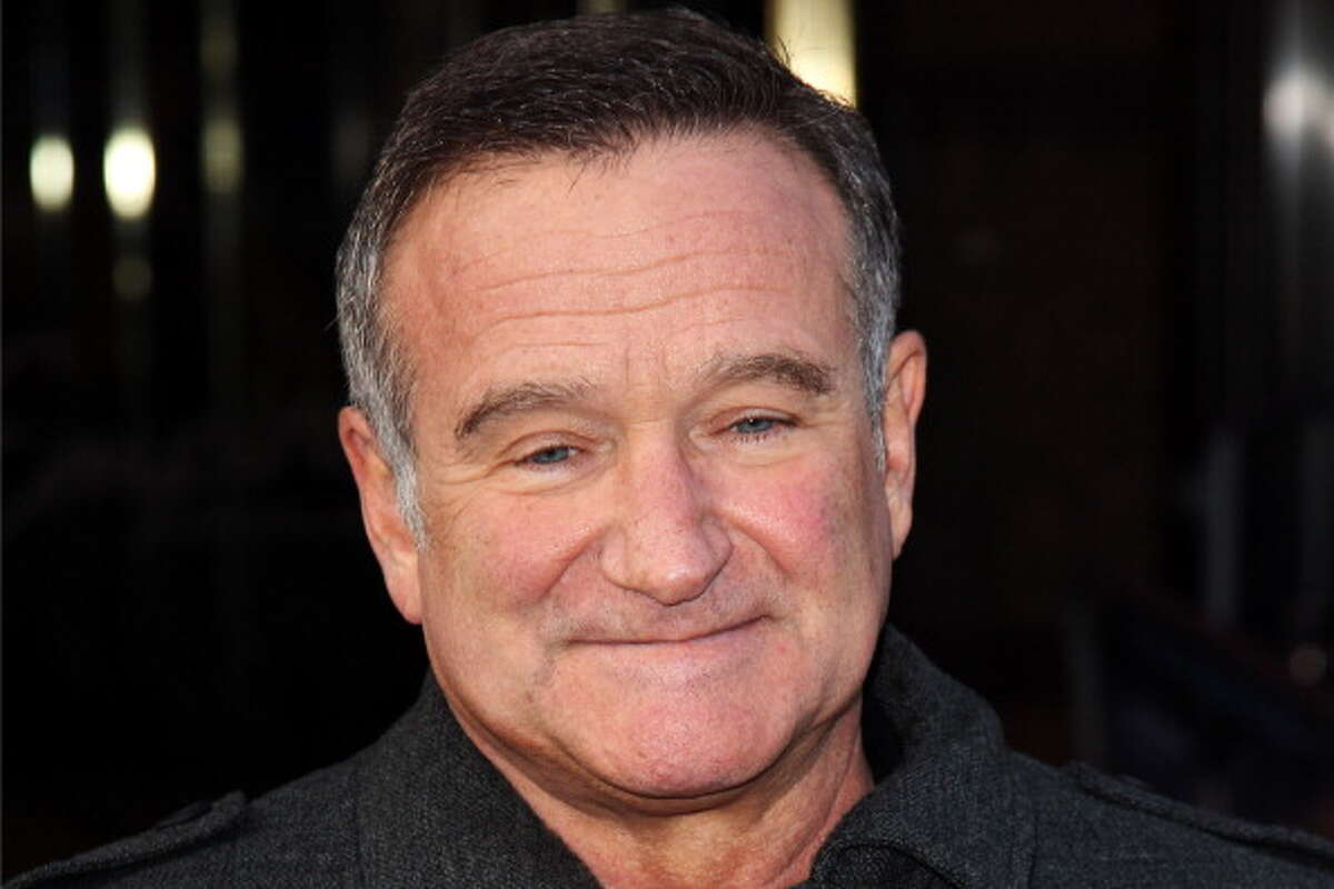 2014: Robin Williams, comedian and actor, committed suicide by hanging himself at his San Francisco Bay Area home.