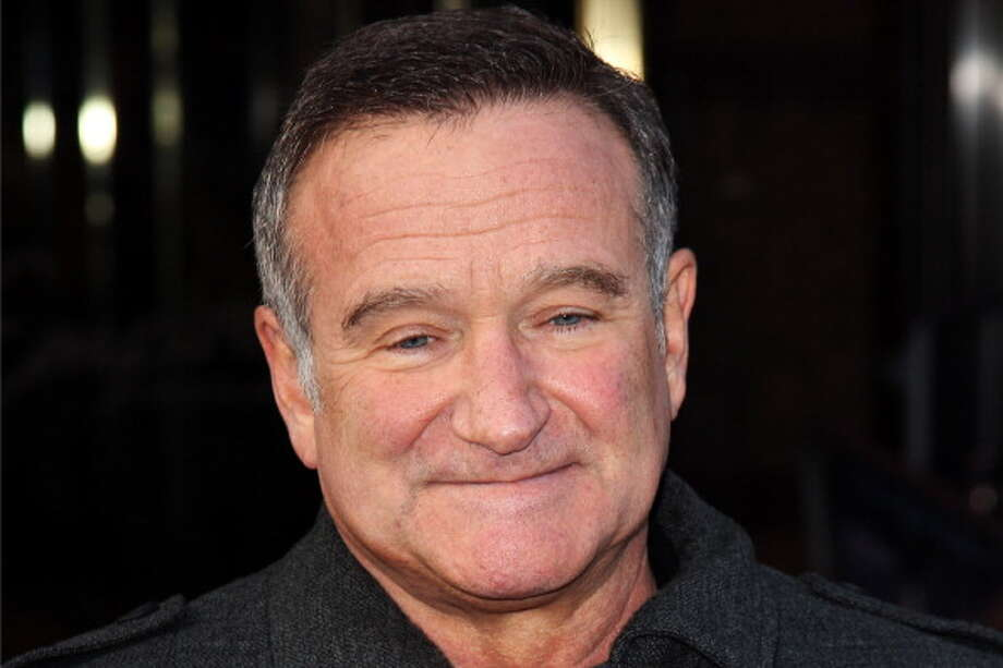 2014: Robin Williams, comedian and actor, committed suicide by hanging himself at his San Francisco Bay Area home. Photo: Dave Hogan, Getty Images / 2011 Getty Images