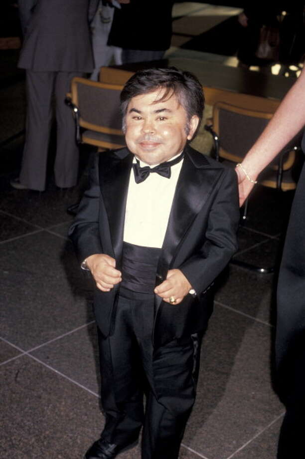 "1993: Herve Villechaize, ""Tattoo"" from ""Fantasy Island"" shot himself at age 50.  Photo: Ron Galella, Getty Images / 1989 Ron Galella, Ltd."