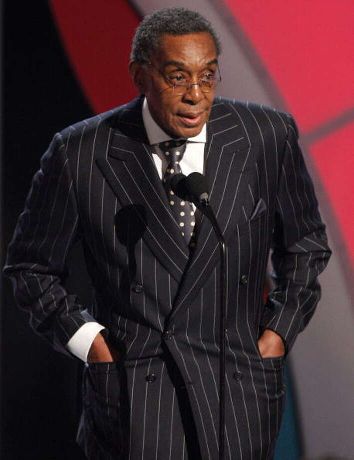 2012: Don Cornelius, creator and host of Soul Train, died from a self-inflicted gunshot wound to the head. Photo: Kevin Winter, Getty Images / 2009 Getty Images