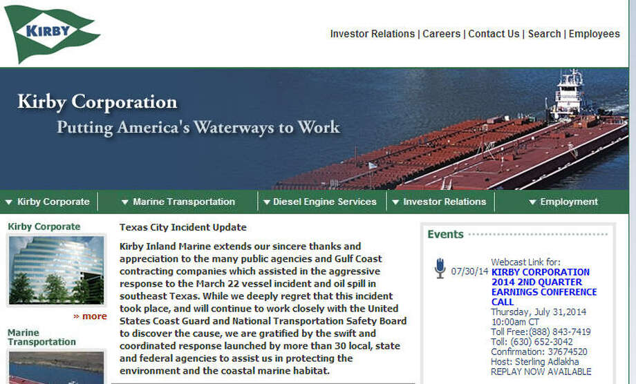 No. 100:KirbyPrevious Rank: -Location: HoustonIndustry: Water Transportation ServicesSector: Other Photo: Company Website