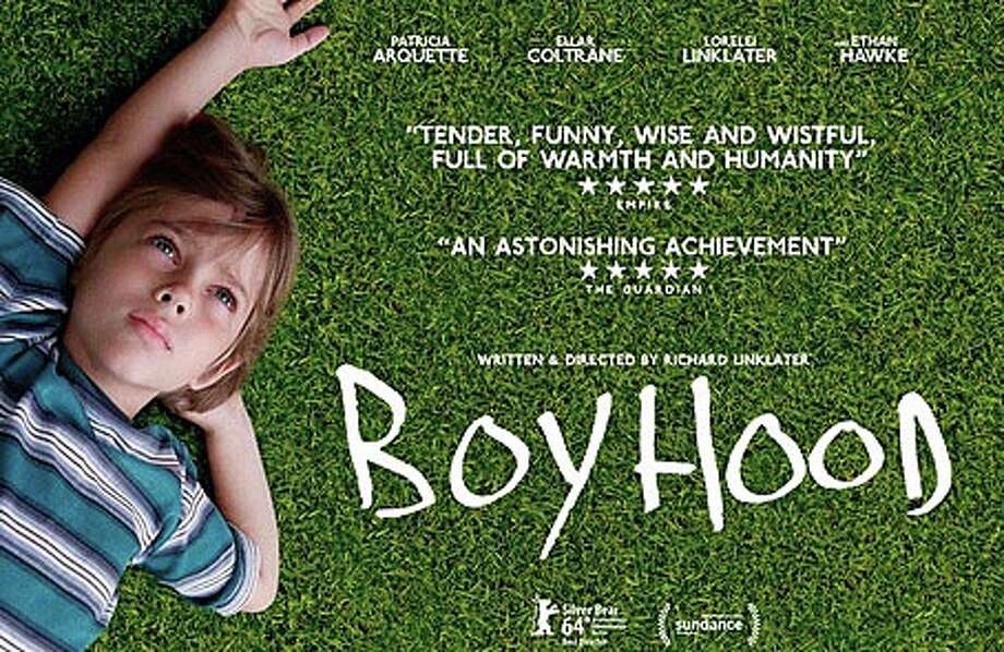 "Director Richard Linklater's new movie ""Boyhood"" was filmed over the course of 12 years with the same cast. Photo: Contributed Photo / Westport News"