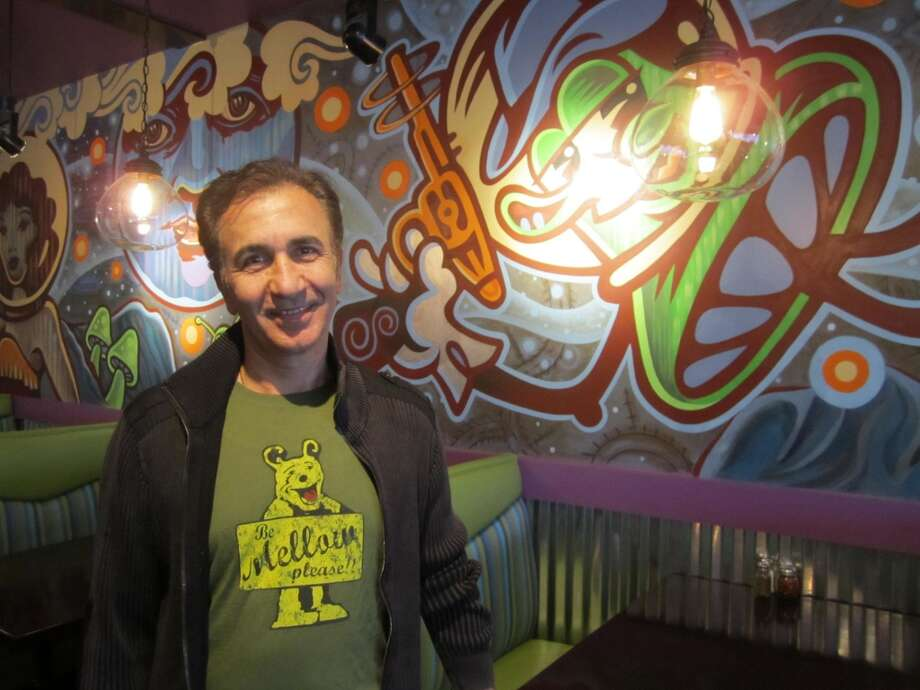Ali Danesh owns the  Mellow Mushroom in San Antonio. The restaurant will offer several specials on Aug. 20 to celebrate the chain's 40th anniversary. Photo: San Antonio Express-News File Photo