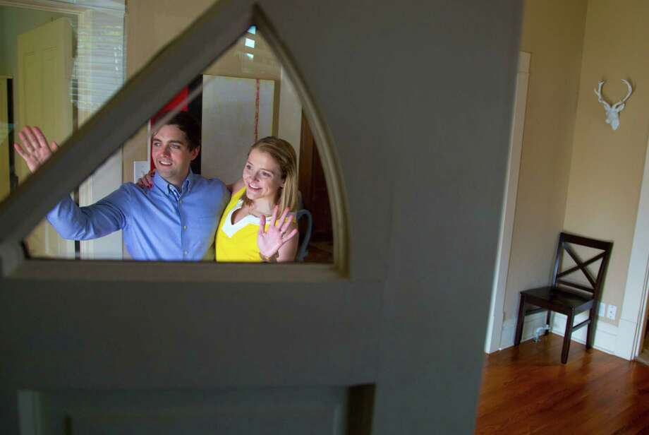Hunter and Jennifer Wright have welcomed renters into their home for a night or weekend by using the web service Air BnB.  The Wrights who own a home inside the north loop have had good experiences renting out there home through Air BnB. (Billy Smith II / Houston Chronicle) Photo: Billy Smith II, Staff / © 2014 Houston Chronicle