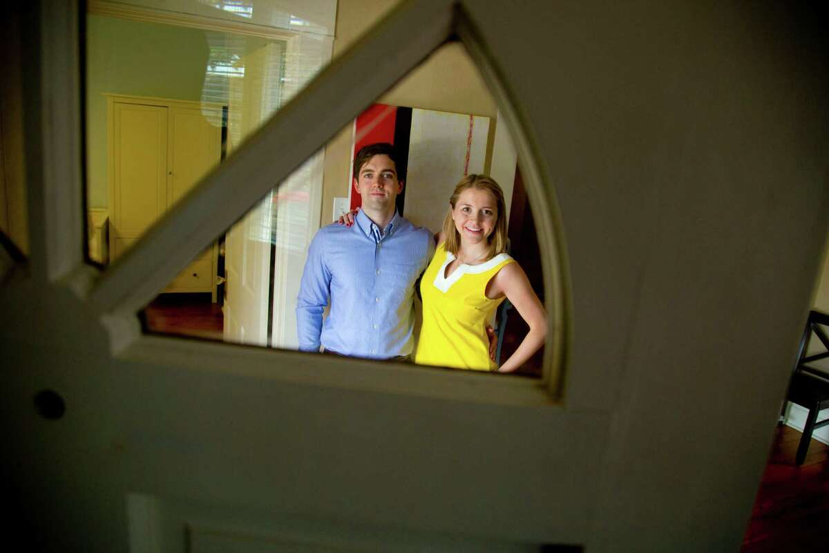 Hunter and Jennifer Wright have welcomed renters into their home for a night or weekend by using the web service Air BnB. The Wrights who own a home inside the north loop have had good experiences renting out there home through Air BnB. (Billy Smith II / Houston Chronicle)