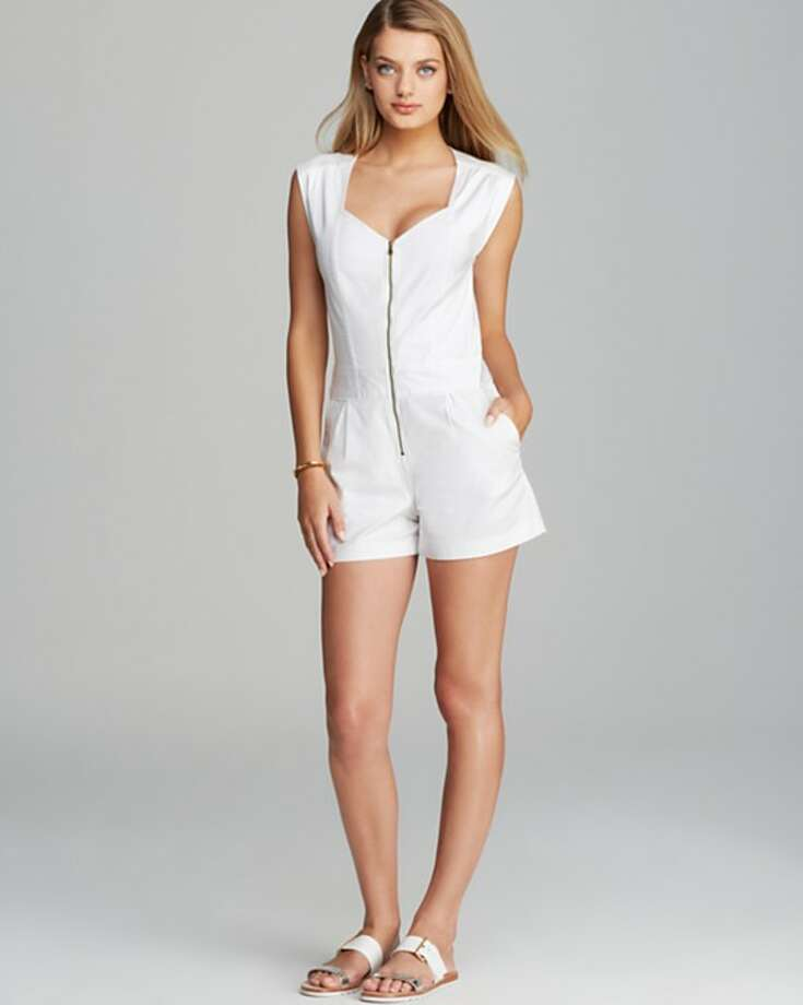 1. FLIRTY ROMPERS, Trina Turk Finley Zip Romper, $194 Photo: Bloomingdale's