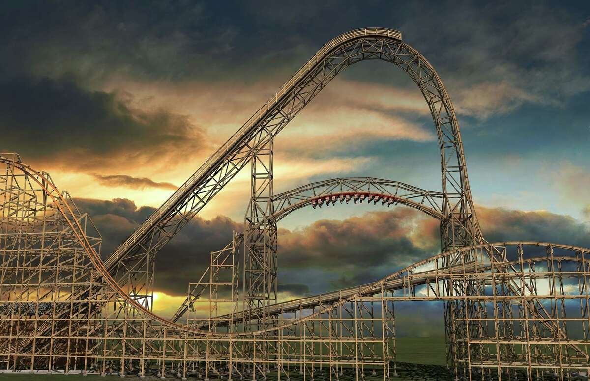 Two ministers married 1,000 couples in one day on top of the Goliath roller coaster at Magic Mountain on Valentine's Day 2000. Vows were said before the coaster made its first drop.