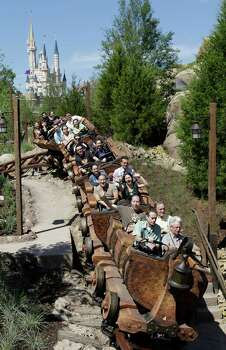 The Seven Dwarfs Mine Train roller coaster in the Magic Kingdom at Walt Disney World, in Lake Buena Vista, Fla.,is also new. Photo: John Raoux, Associated Press / AP2014