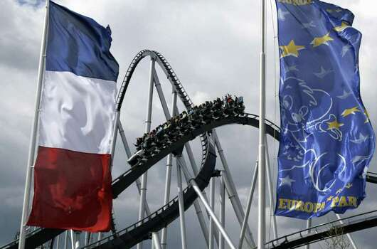 The Silver Star coaster at Europapark Rust, in Germany, is seen in this 2004 photo. Photo: OLIVIER MORIN, AFP/Getty Images / 2004 AFP