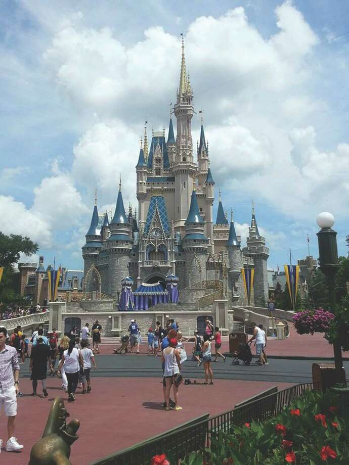 Cinderella's Castle at Magic Kingdom in Disney World, Florida (Carin Lane / Times Union)