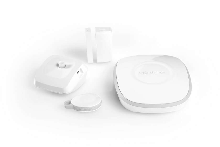 SmartThings makes mobile applications  to remotely control devices in houses.
