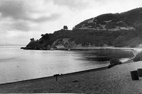 Ayala Cove on Angel Island ( also known as Hospital Cove)     Photo ran 07/17/1966 , page 4