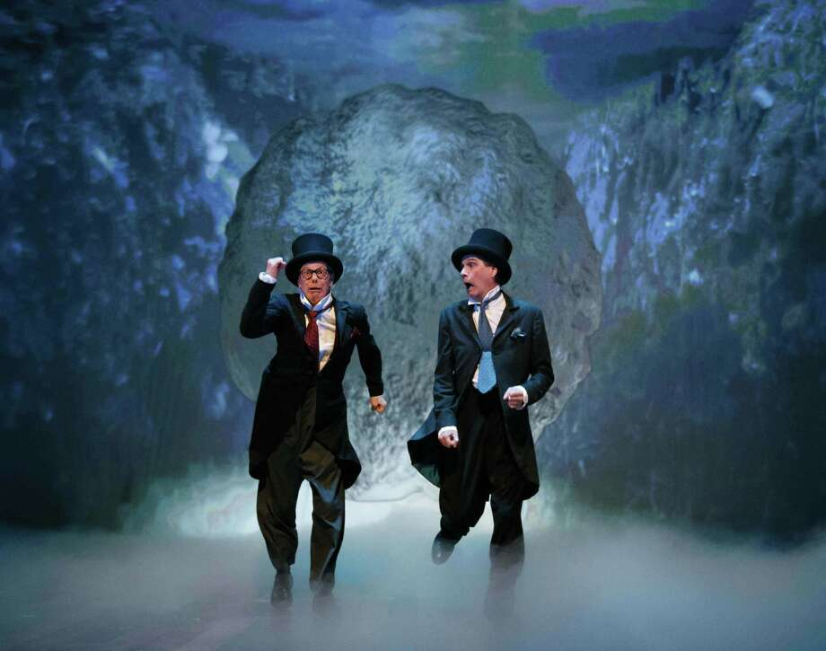 """Bill Irwin, left, and David Shiner in """"Old Hats"""" Photo: Courtesy ACT / ONLINE_YES"""