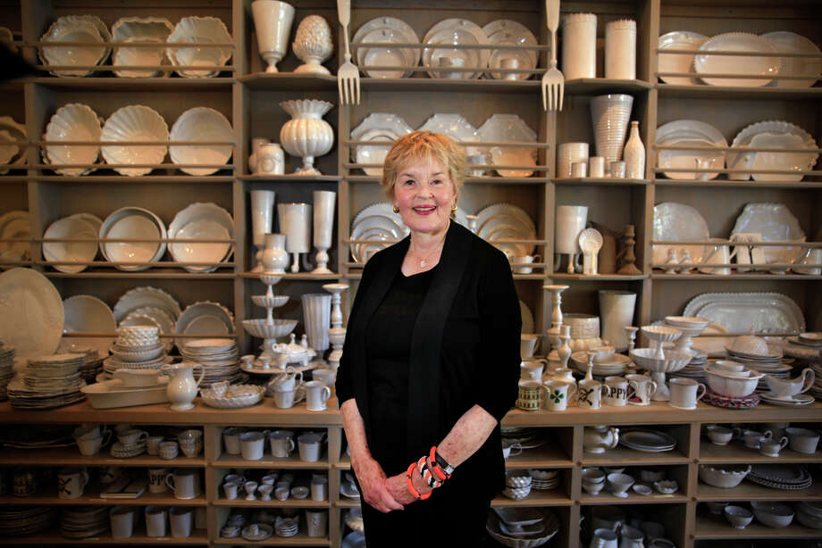 Sue Fisher King says the only constant about her shop is the continual change of what is on display. Photo: Lea Suzuki / Photos By Lea Suzuki / The Chronicle / ONLINE_YES