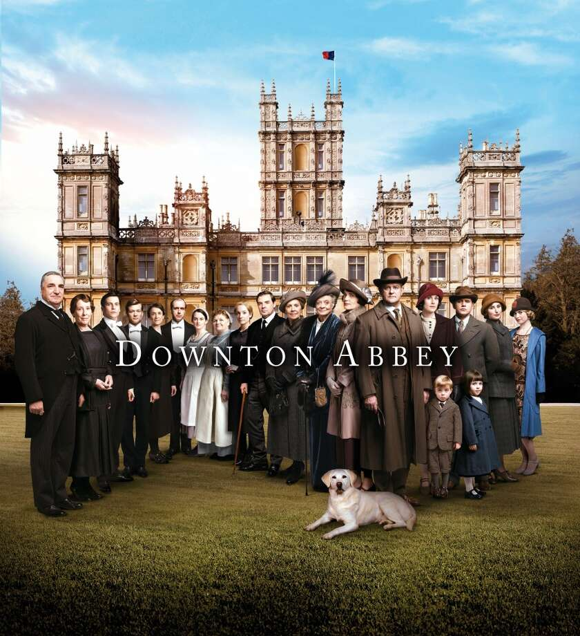 The cast of Downton Abbey in a publicity shot for season 5. Photo: Nick Briggs/Carnival Films 2014 For MASTERPIECE