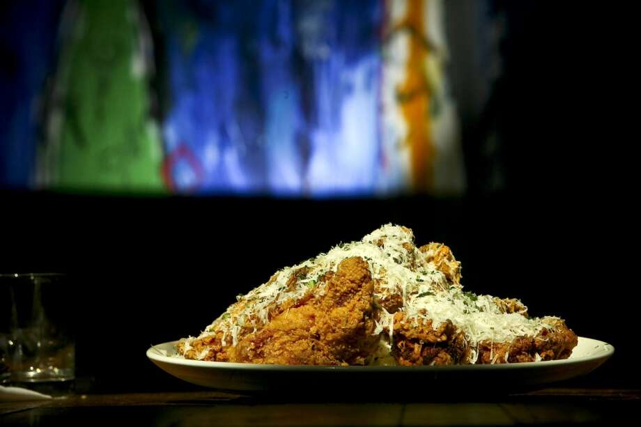 Parmigiano Fried Chicken at Tre Trattoria. Photo: EXPRESS NEWS FILE PHOTO