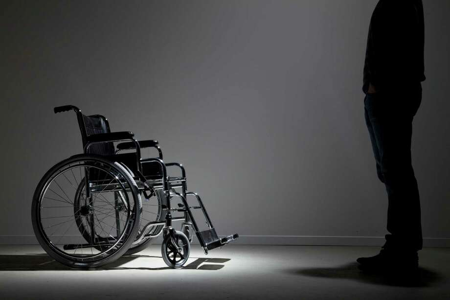 "Most people do not wish to be disabled, but this man has a different story. He says feels like a disabled man trapped in an able-bodied person. Chris calls himself a ""pretender,"" and apparently he is not the only one. New Mobility released a piece on the condition back in 2011 explaining that this is seen as a mental disorder. According to Gawker, Chris will be part of a documentary called 7 Deadly Sins, and his is envy. Click through to see other unbelievably bizarre mental disorders.  Photo: Walter Zerla, Getty / Blend Images"