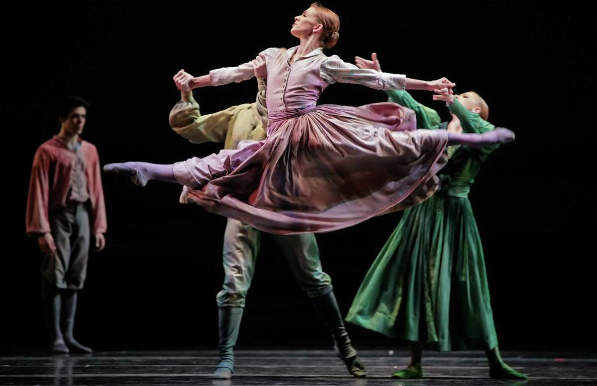 """Kelly Myernick, who has retired from Houston Ballet, was a special force in earthy and athletic dances such as Christopher Bruce's """"Sergeant Early's Dream."""""""