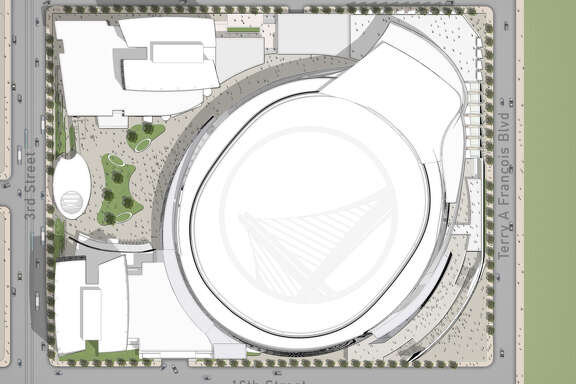 The Golden State Warriors' proposed arena looks like a toilet, some say.